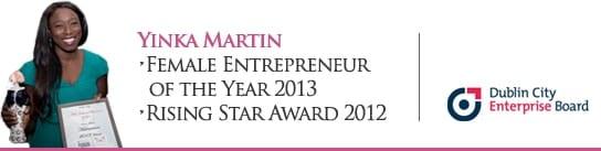 DCEB Female Enterpreneur Award Winner HairWeavon Yinka Martin