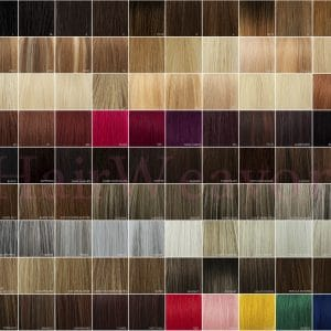 HairWeavon Colour Chart