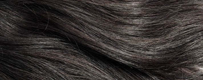 Virgin Indian hair in its natural colour