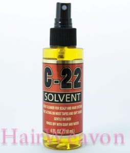 C22 Scalp and hair piece cleaner