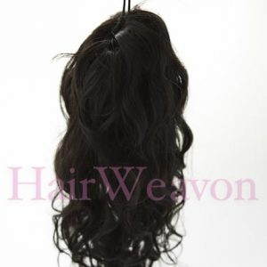 Ponytail Hair Piece | Human Hair | Wavy