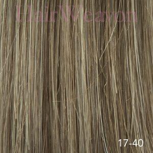 Men's Hair System Colour 17 40% Grey