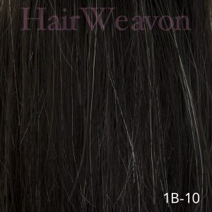 Mens Hair System Colour 1B 10% Grey
