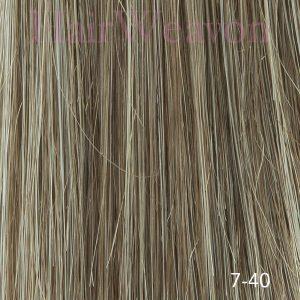 Men's Hair System Colour 7 40% Grey