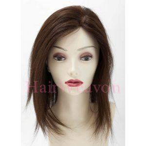 Topper Hair Piece | Mono Top | Half Wig Design | | Custom Colour | Custom Length