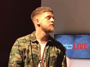 HairWeavon at Barber connect show in Birmingham