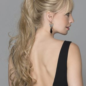 Champagne Ponytail Hair Piece | Synthetic Ponytail (Wrap Around) | 10 Colours