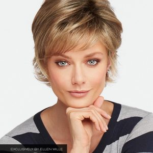 Aspen Mono Wig By Raquel Welch | Synthetic Wig (Mono Top) | 11 Colours
