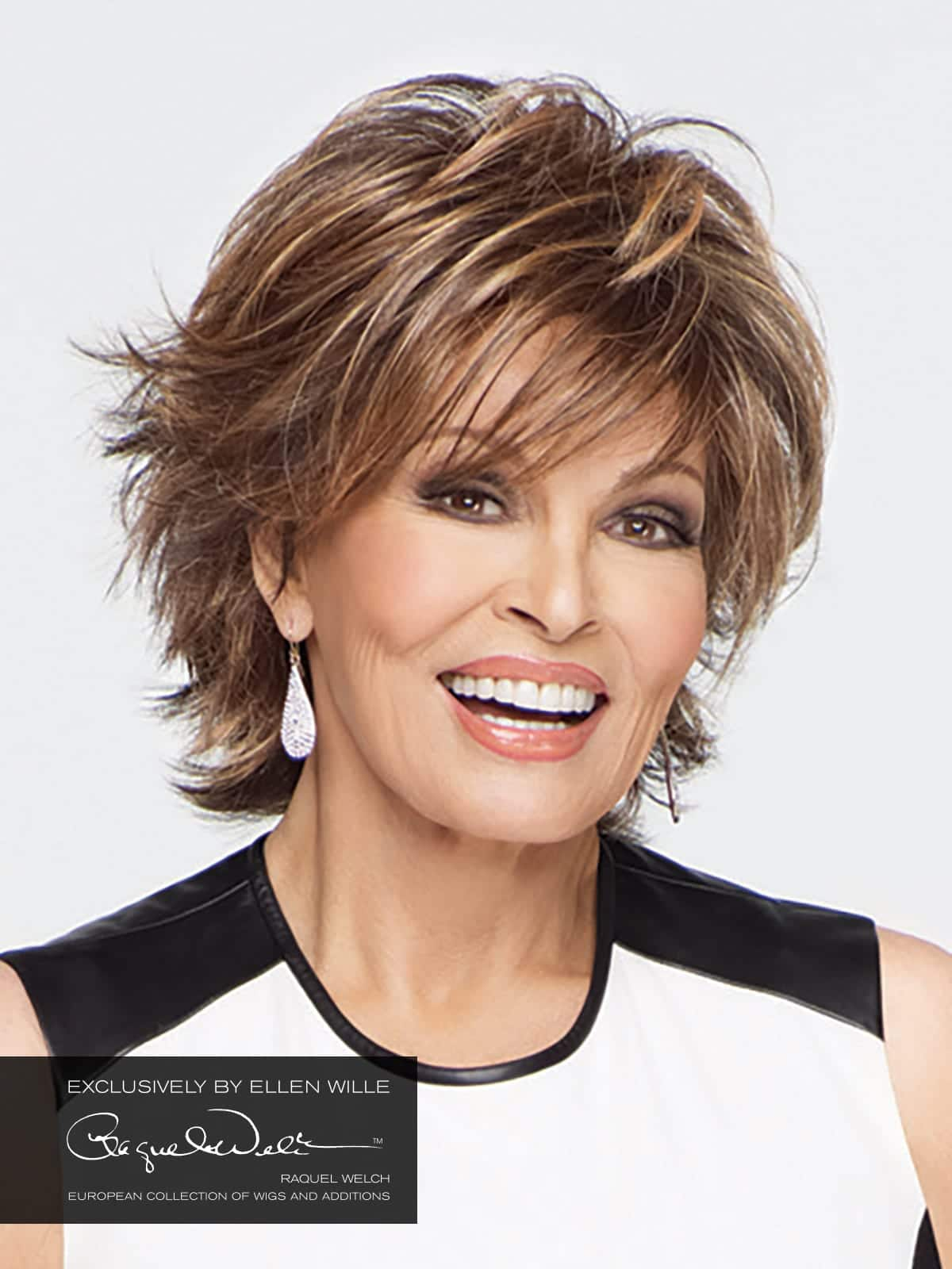 Indiana and Indiana Mono Wig by Raquel WelchIndiana Mono Raquel Welch Wig and Indiana Raquel Welch Wig