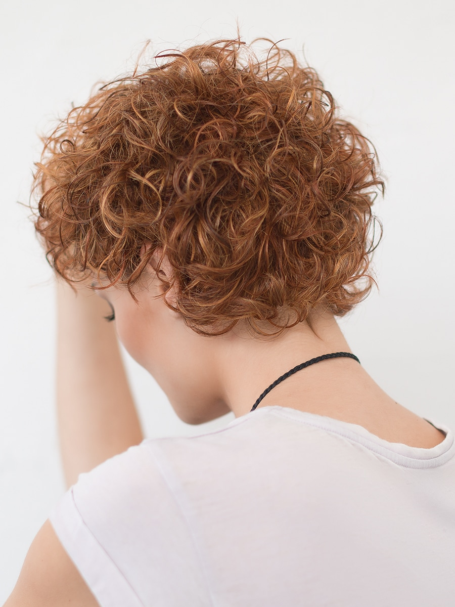 App Wig by Ellen Wille in Safran Red
