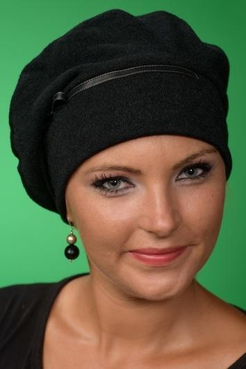 Cecylia Turban Black