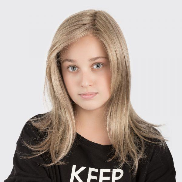 Sara Wig for Kids by Ellen Wille in MIDDLE BLONDE
