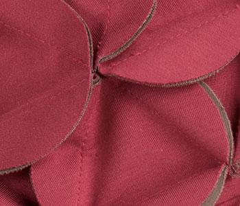 Mora Headwear by Ellen Wille in WINE RED