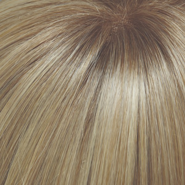 24B613S12 | Med Natural Ash Blonde & Pale Natural Gold Blonde Blend and Tipped, Shaded with light Gold Brown