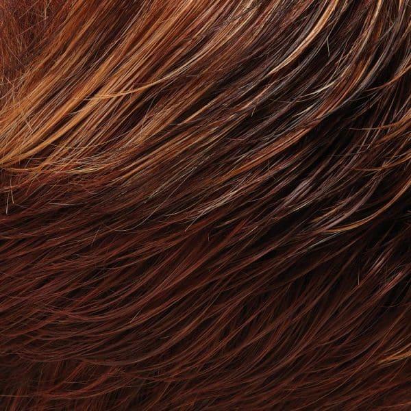 32F | Dark & Med Red Brown, Light Red-Gold Blonde Blend