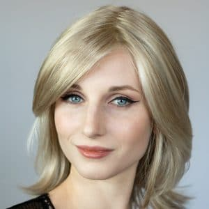 Talent Mono Wig by Ellen Wille. mid length wigs