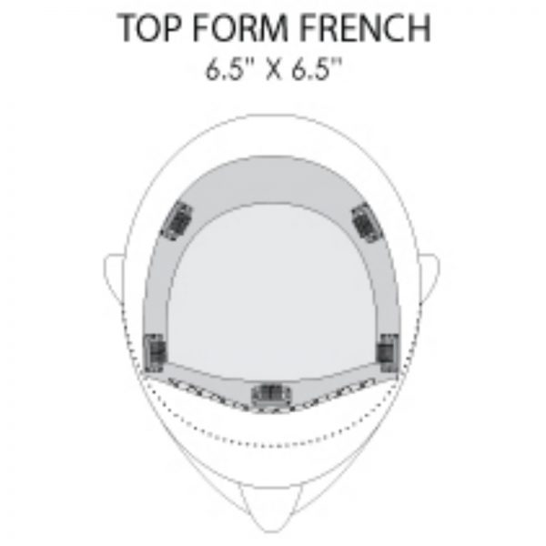Top Form French Placement and Dimensions