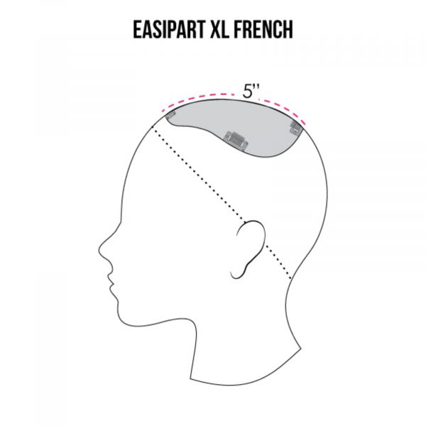 easiPart French XL Coverage