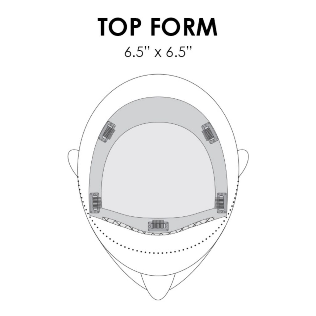 Top Form Piece Placement & Base Dimension