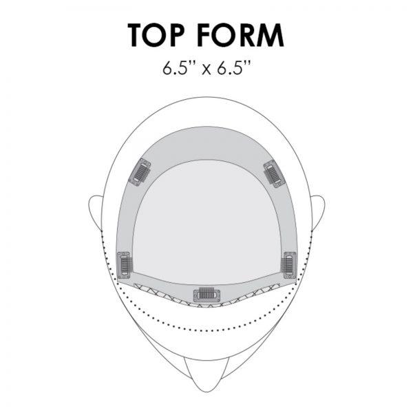 Top Form Piece Placement & Base Dimension