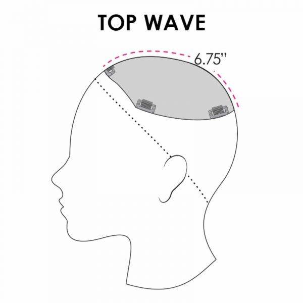 Top Wave Topper Piece Coverage