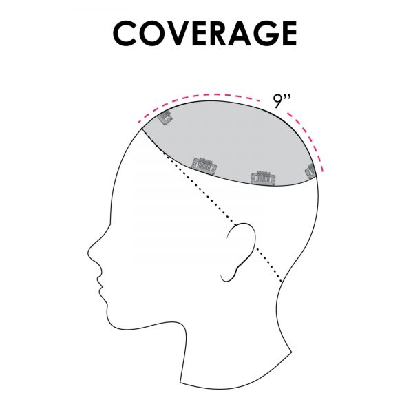 Top Smart Topper Hair Piece | Coverage by Jon Renau Easihair