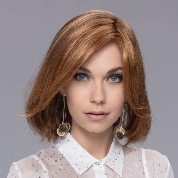 Flirt Wig in SAFRAN BROWN ROOTED by Ellen Wille