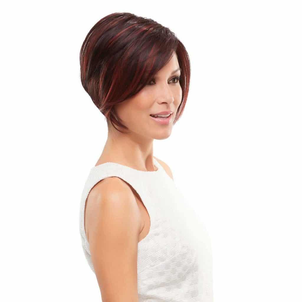 Ignite Wig by Jon Renau in FS2V31V   Chocolate Cherry Colour