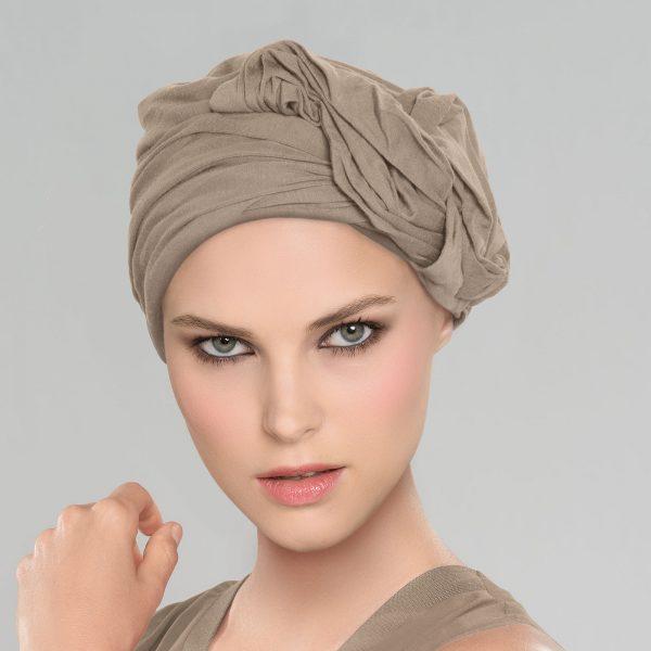 Malou Headwear in Dark Sand by Ellen Wille
