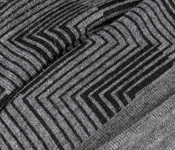 Ama Headwear in Print Grey