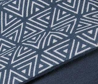 Ama Headwear in Triangle Blue