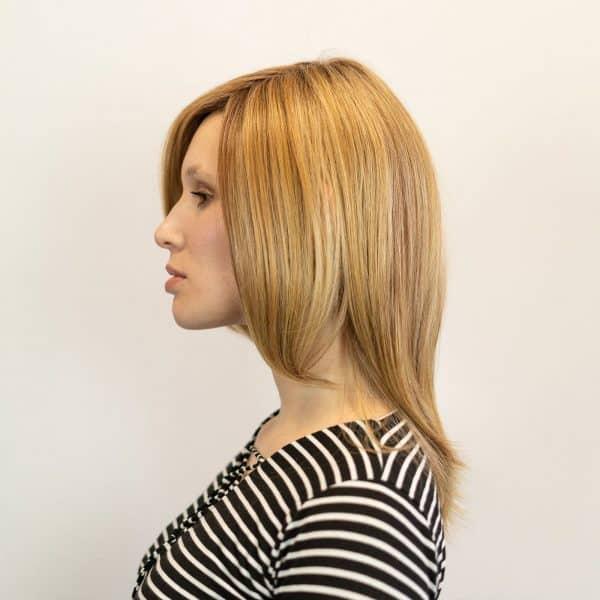 Drew Wig by Jon Renau in 14/26S10   Shaded Parlines n Cream