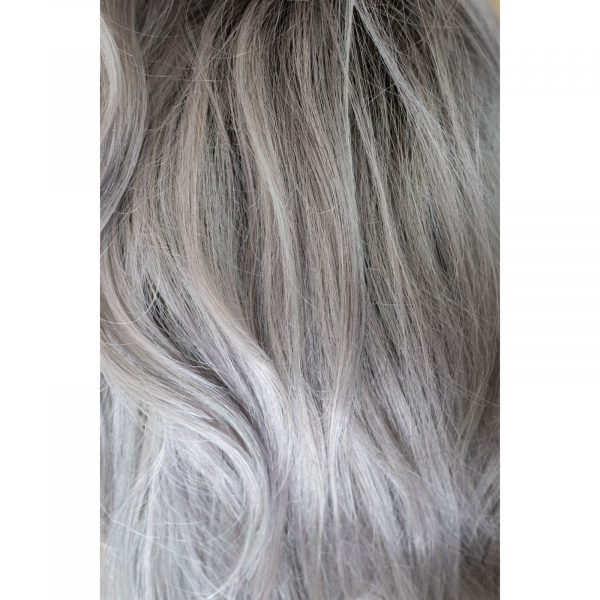 Smoky Gray Rooted Colour by Rene of Paris