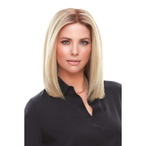 Top Smart 12″ Topper | Remy Human Hair Lace Front (Mono Base) | 32 Colours