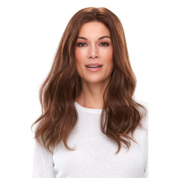Top Smart Human Hair 18 inches Topper 6RN