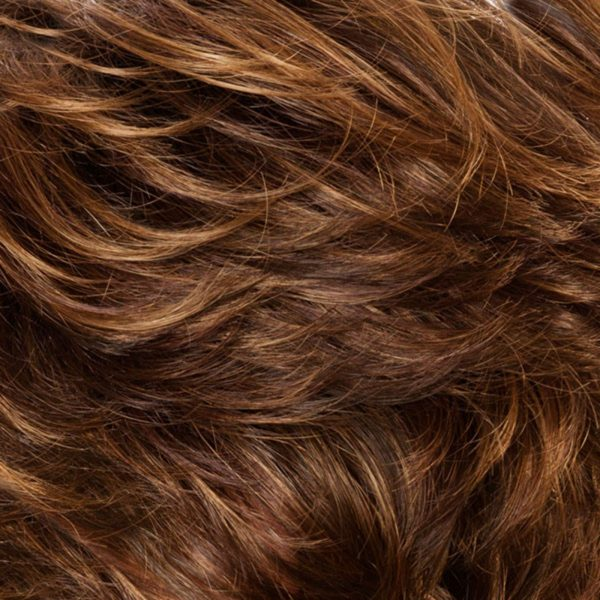 Dark Copper Root 8/30/27+Root4 Synthetic Wig Colour by Belle Madame