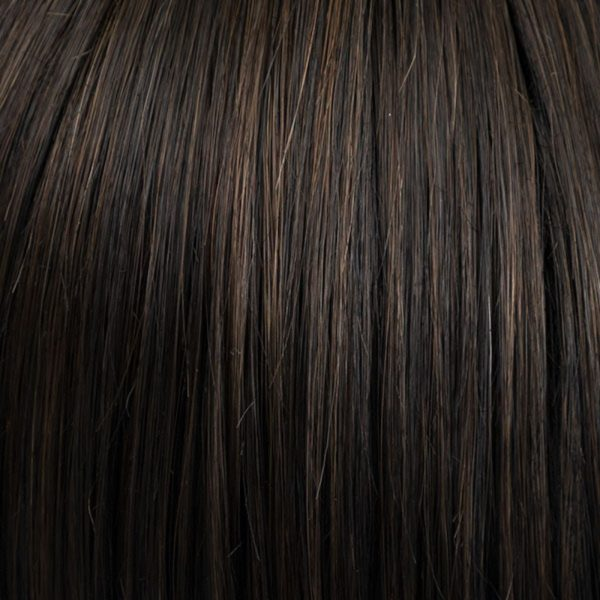 Dark Mocca 4/6-4 Synthetic Wig Colour by Belle Madame