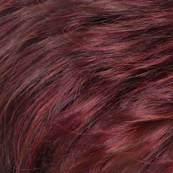 Dark Purple 2V/133 Synthetic Wig Colour by Belle Madame