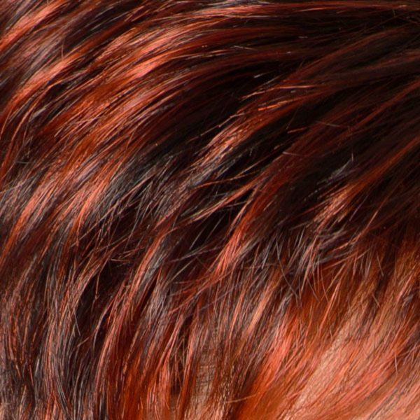 Red Power Mix 135/130/4 Synthetic Wig Colour by Belle Madame