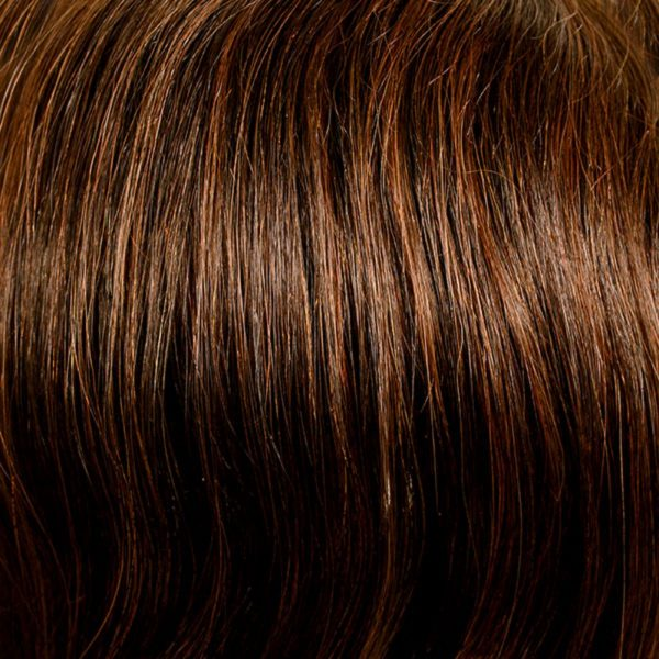 6/30 Brown Red Mix Human Hair Wig Colour by Belle Madame