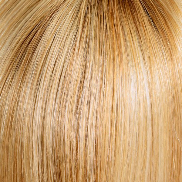 20R/19+Root12 Danish Blond Root Human Hair Wig Colour by Belle Madame