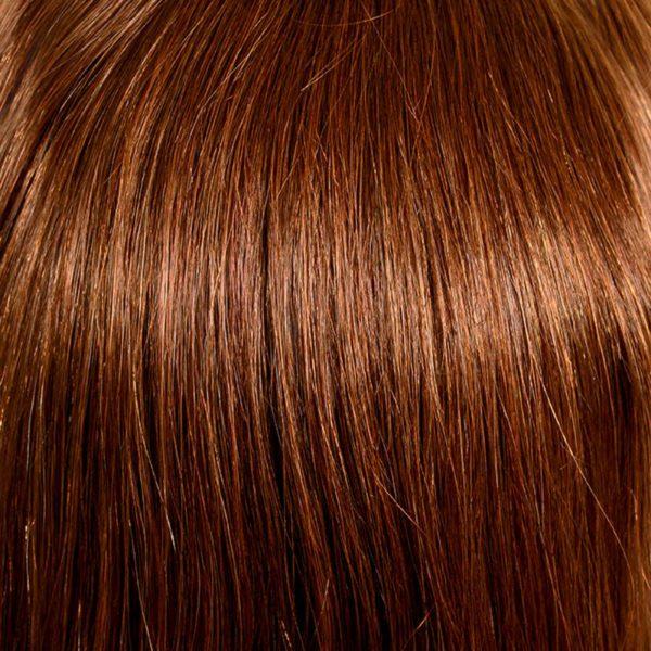 33/30 Dark Auburn Mix Human Hair Wig Colour by Belle Madame