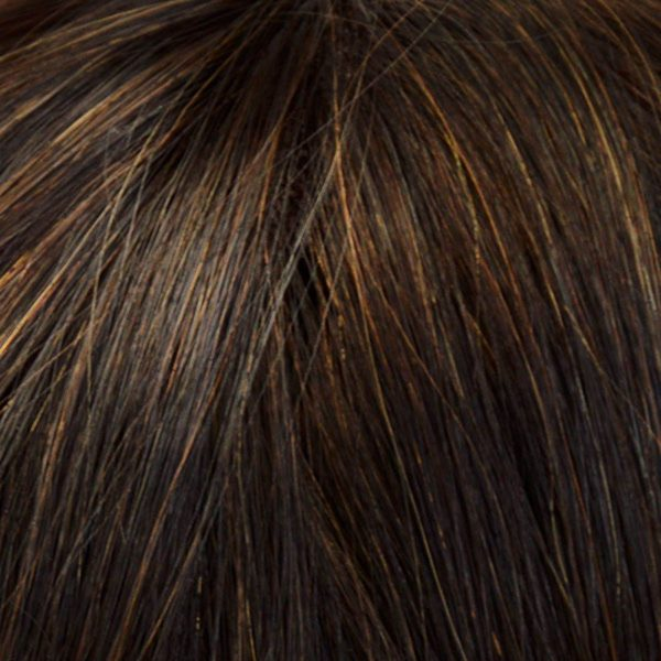 4 Dark Mocca Human Hair Wig Colour by Belle Madame