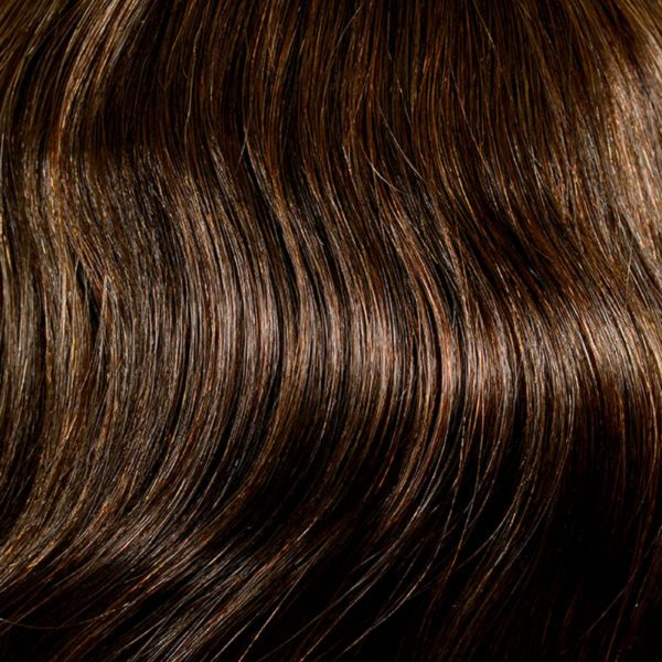 4/8 Dark Mocca Mix Human Hair Wig Colour by Belle Madame