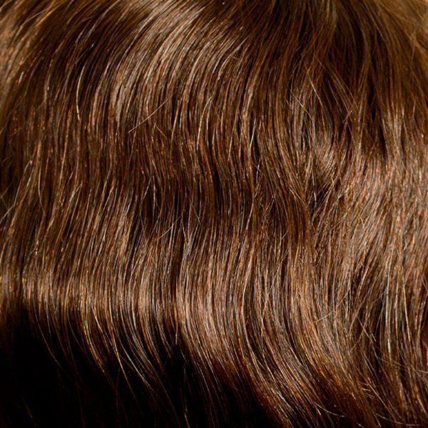 8 Light Brown Human Hair Wig Colour by Belle Madame