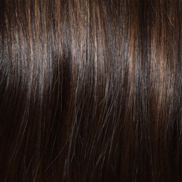 Dark Ginger Brown Human Hair Colour by Wig Pro