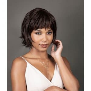 Nathalie Wig | Human Hair And Synthetic Mix | Lace Front (Mono Top) | 12 Colours