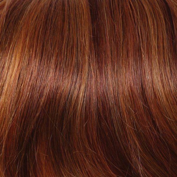 R28S Glazed Fire   Human Hair Wig Colour by Raquel Welch
