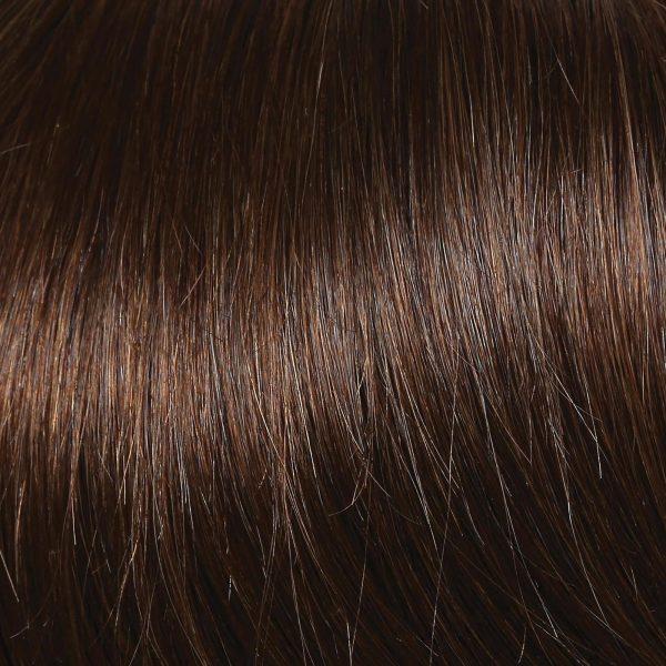 R8 Dark Cinnamon   Human Hair Wig Colour by Raquel Welch