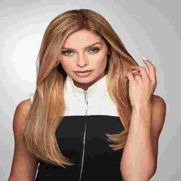 Gilded Hair Topper 18 inches | Human Hair